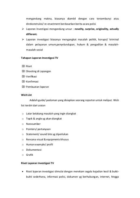 cara membuat latar belakang laporan wawancara instrument wawancara tv dan melakukan wawancara di lapangan
