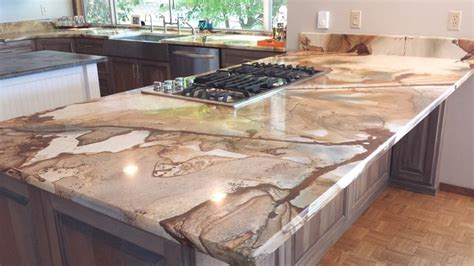Marble Kitchen Island Table palomino granite and soapstone kitchen traditional