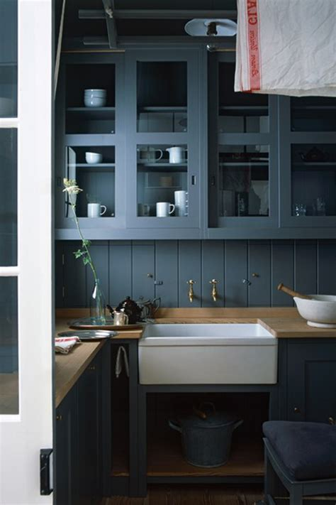 the collected interior black painted kitchen cabinets can you really have a cosy kitchen five ideas to try