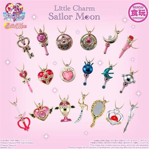 sailor moon charm set 3sailor moon collectibles