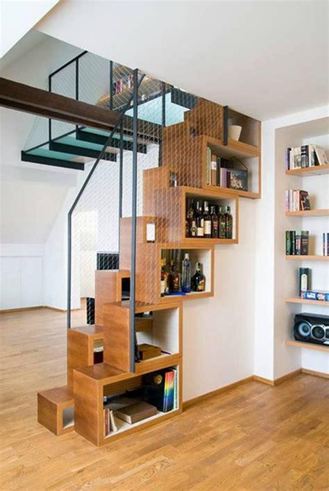 platzsparende treppe space saving stairs small space