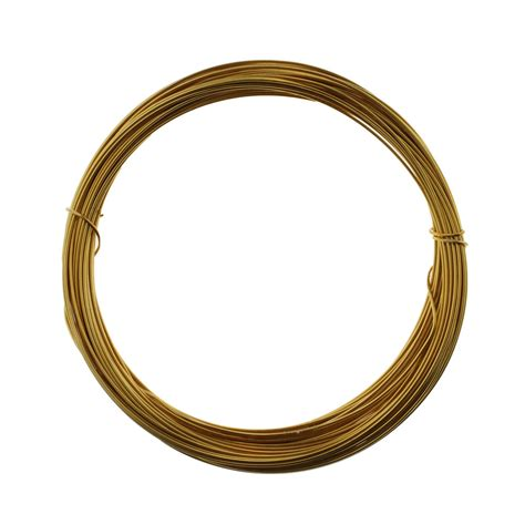 beading wire 0 6mm copper gold plate beading wire 10 metres from