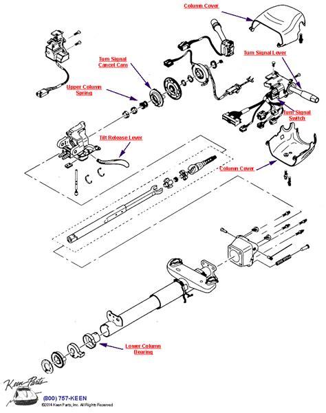 1978 corvette steering column diagram wiring diagram schemes