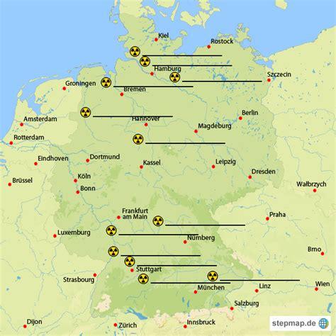 deutsches büro grüne karte telefonnummer atomkraftwerke in deutschland zetti67 landkarte f 252 r