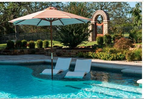 tanning backyard pool with tanning ledge atx home pinterest backyard
