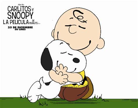 imagenes de feliz lunes con snoopy dibujo de snoopy y carlitos charlie brown pintado por en