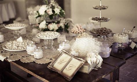 tavolo confettata nozze tradizioni matrimonio le curiosit 224 italiane sulle nozze