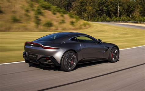 all new 2018 aston martin vantage launched classic and