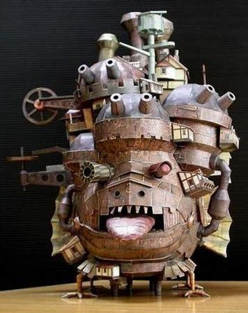 Howls Moving Castle Papercraft - howlmoving castle mega gallery