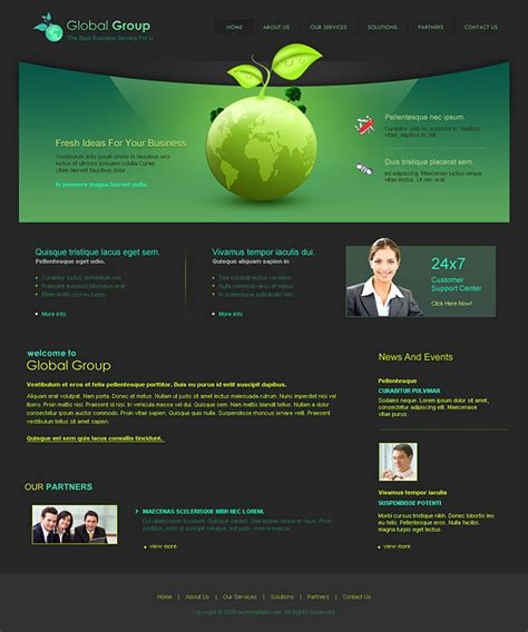 nice web layout design website layout template learnhowtoloseweight net