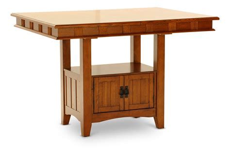 mission crest table hom furniture furniture stores in