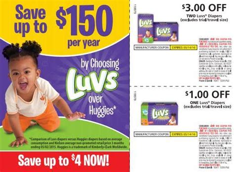 printable luvs diaper coupons 5 rebate savings on luvs diapers with ibotta more