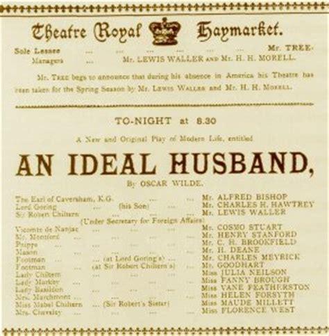 The Ideal Husband Essay by Oscar Wilde Works