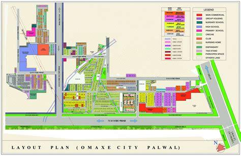 layout plan of kmp expressway palwal city map my blog