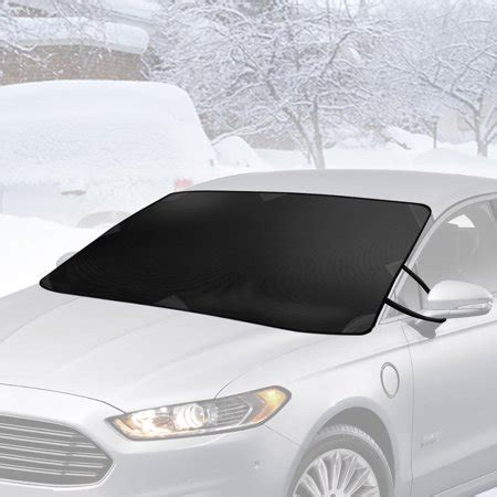 bdk winter defender car windshield cover  ice  snow magnetic waterproof frost protector