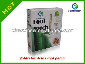 Detox Foot Patch Gold Relax by 2014 Relax Detox Foot Patch With Ce 10pcs Box Goldrelax