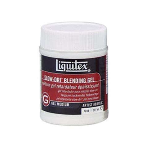 acrylic paint not drying liquitex dri blending gel medium