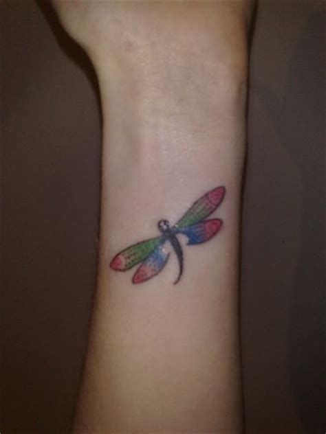 dragonfly wrist tattoos wrist dragonfly tattoos