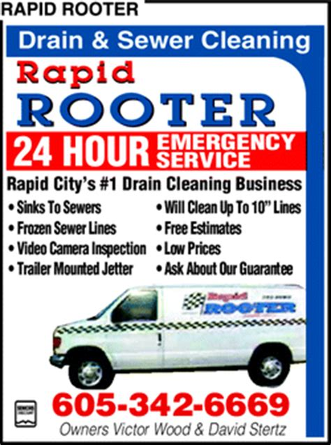 Rapid Rooter Plumbing by Directory Ad For Rapid Rooter