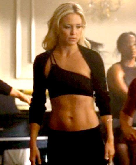 Kate Hudson Has Abs by Kate Hudson Flashes Six Pack Abs In Glee Debut