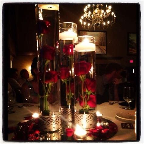 floating candle wedding centerpiece my wedding
