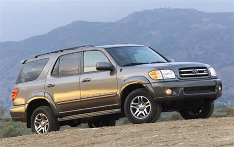 2002 Toyota Sequoia Problems Toyota Sequoia 2002 Reviews Prices Ratings With