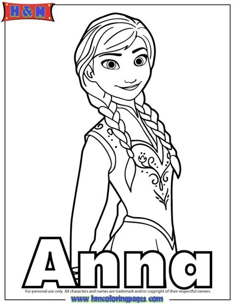 princess coloring pages frozen anna get this free coloring pages of princess anna from disney