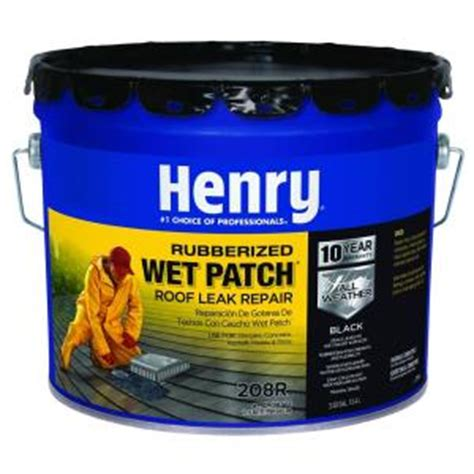 henry 3 30 gal rubber patch roof cement he208r361