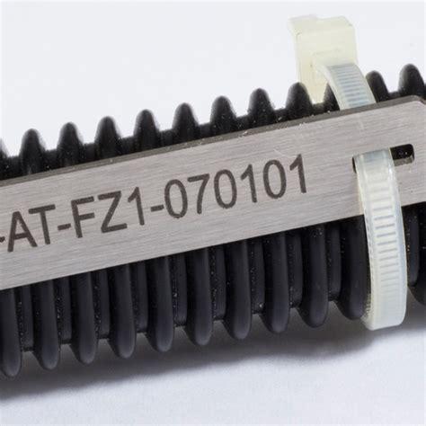 Beschriftung Leitungen by Edelstahl Kabelschilder Beschriftung Kabel Leitungen