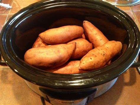 how to cook sweet potatoes or yams in a slow cooker kristen s raw bloglovin