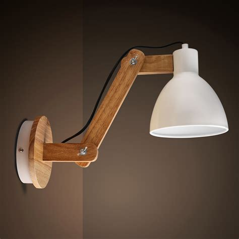 Handcrafted Lighting - wooden wall lights fit perfectly to the interiors of