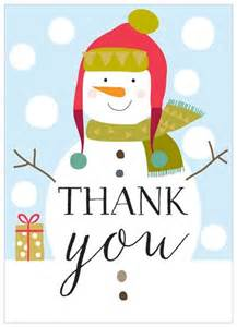 pack of 8 snowman thank you cards karenza paperie