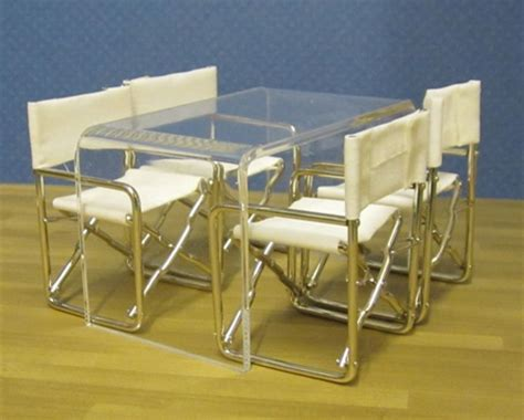 Clear Plastic Dining Table Clear Acrylic Minimalist Dining Table Miniatures