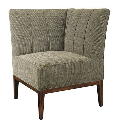 High Back Dining Room Chairs Bistro Corner Chair From The Mariette Himes Gomez