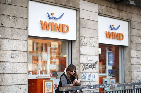 wind mobile italia wind and 3 italia should aim for joint strength wsj