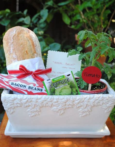 dinner party hostess gift bacon birthday gifts pinterest