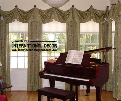 Living Room Curtain Styles by Top Trends Living Room Curtain Styles Colors And Materials