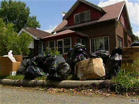 trash house trash talk leads to a stink during indiana garbage