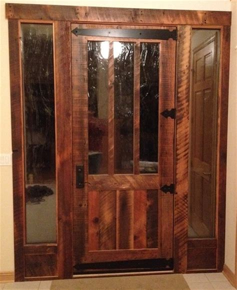 Rlp Reclaimed Solid Wood Doors Cabin Fever Pinterest Reclaimed Exterior Doors