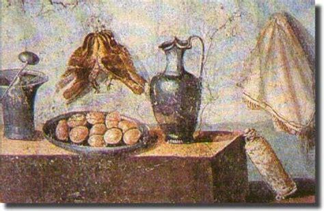 banchetto romano cibi banchetto romano