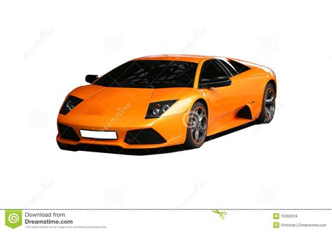 orange sports cars lamborgini sports orange car royalty free stock photos