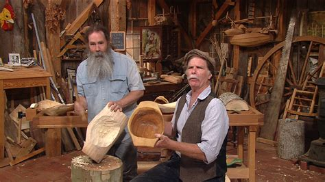 video s35 ep8 bowl carving with peter follansbee watch