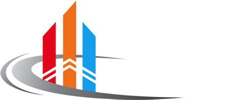 design logo perusahaan kontraktor pt mega bina development specialist structure
