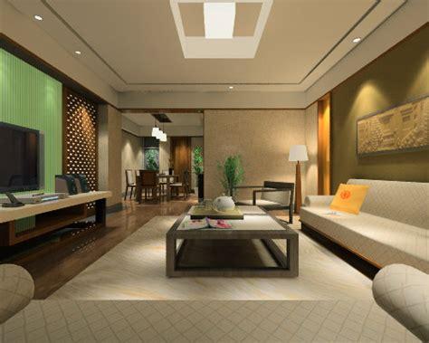 3d living room 3d interior design model