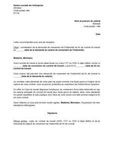 Exemple De Lettre Pour Une Rupture Conventionnelle Modele Lettre Licenciement Rupture Conventionnelle