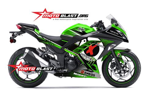 Striping Suzuki Lets Hijau modifikasi striping kawasaki hijau