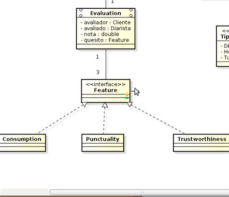 interface uml diagram uml define cardinality using interface stack overflow