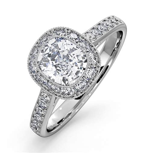 Engagement Rings Uk by White Gold Engagement Rings Thediamondstore
