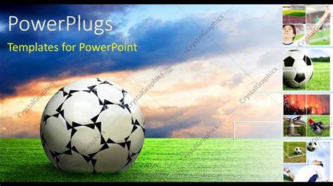 Powerpoint Template Soccer Ball Football Sport Game Collage 26651 Free Soccer Powerpoint Template