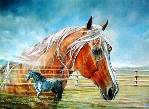 imagenes surrealistas de caballos cuadros pinturas oleos cuadros con caballos de pintor